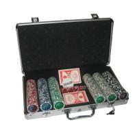 Комплект за покер MASTER 300 в метален куфар