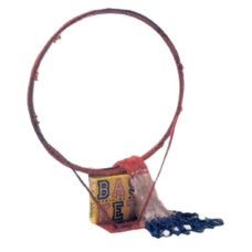 Баскетболен кош с мрежа SPARTAN, ринг, 10мм