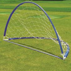 Футболна врата с мрежа MASTER 160x80x80см