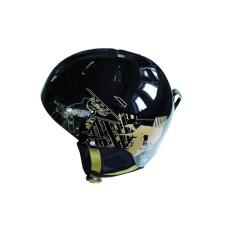 Каска за ски  SPARTAN,размер L , черна