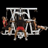 Професионален комбиниран уред Body-Solid Leg Press EXM4000S