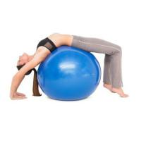 Топка за йога Bodyflex Anti Brust, 75 см, синя