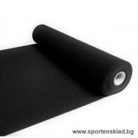Гумена настилка, подложка, Soft, 4мм, черна