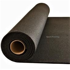 Гумена настилка Sport-flooring Strong, 6мм, черна