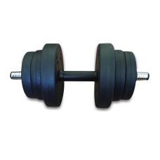 Дъмбел Bodyflex с PVC покритие, 10 кг