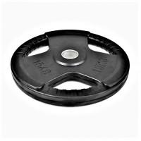Гумиран диск Bodyflex Ф50, 15 кг, със захват