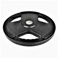 Олимпийски диск MASTER 20 кг, гумиран