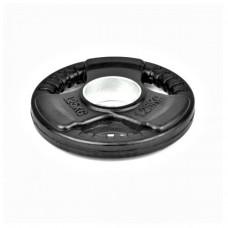 Гумиран диск Bodyflex Ф50, 1.25 кг, със захват