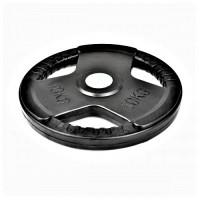 Гумиран диск Bodyflex Ф50, 10 кг, със захват