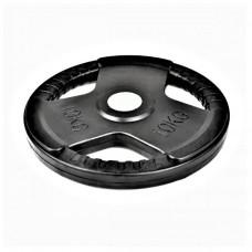 Диск олимпийски MASTER 10 кг, гумиран