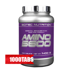 Аминокиселина Scitec Nutrition Amino 5600, 1000 таблетки