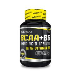 Аминокиселина Biotech USA BCAA + B6
