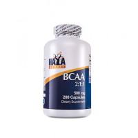 Аминокиселина Haya Labs Sports BCAA 2:1:1 500mg