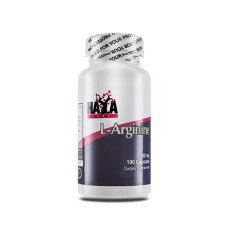 Аминокиселина Haya Labs L-Arginine 500mg