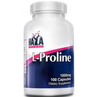 Аминокиселина Haya Labs L-Proline 1000mg