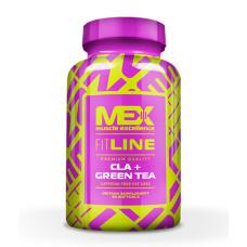 Фет Бърнър MEX CLA + Зелен Чай, 90 капсули
