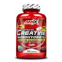 Креатин МОНОХИДРАТ AMIX  800 мг., 500 капсули.