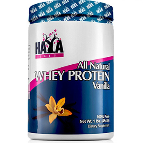 Суроватъчен протеин Haya Labs 100% Pure All Natural Whey Protein / Vanilla