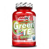 Екстракт от зелен чай, AMIX /with Vitamin C, 100 капсули