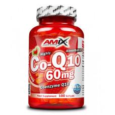 AMIX Coenzyme Q10 60 mg. / 100 капсули