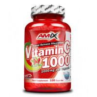 Витамин С ,AMIX /with Rose Hips/ 1000 мг., 100 капсули.