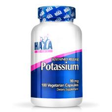 Минерал Haya Labs Sustained Release Potassium 99mg / Vcaps