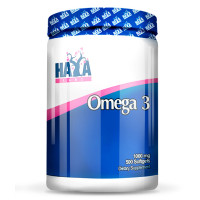 Аминокиселина HAYA LABS Omega 3 1000мг., 500 гeл-ĸaпcyли