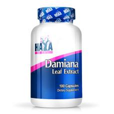Витамини и минерали Haya Labs Damiana Leaf Extract, 100 капс.