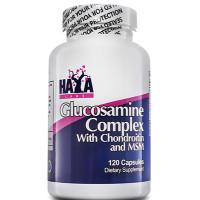 Витамини и минерали Haya Labs Glucosamine Chondroitin & MSM Complex, 120-240 капс.