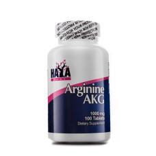 Аминокиселина HAYA LABS Arginine AKG 1000мг., 100 табл.