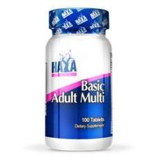 Витамини и минерали Haya Labs Basic Adult Multivitamin