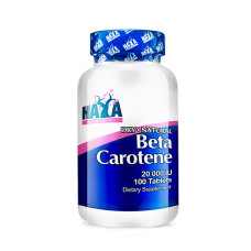 Витамин Haya Labs Natural Beta Carotene 20,000 IU