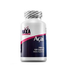 Витамини и минерали Haya Labs Acai,1000 мг., 120 капс.