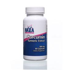 Витамини и минерали Haya Labs Curcumin /Turmeric Extract/ 500 мг. / 60 капс.