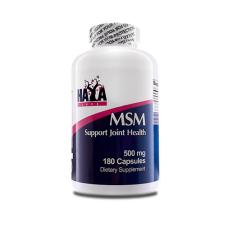 Витамини и минерали Haya Labs MSM 500 мг., 180 капс.