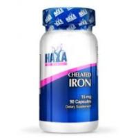 Минерал Haya Labs Chelated Iron 15mg / Vcaps