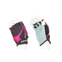 Дамски ръкавици BIKESPORT GLM-367-M черно-розово