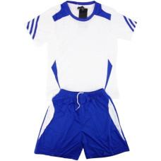 Екип за футбол/ волейбол/ хандбал, детски - бял със синьо