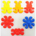 Конструктор елементи с различни цветове 500 грама