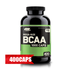 Аминокиселина Optimum NUTRITION BCAA Mega-Size 1000mg., 400 кап.