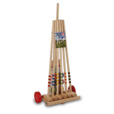 Крокет LUCIO LONDERO с дървена количка за 6 играчи