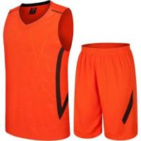 Екип за баскетбол, детски - неоновооранжев