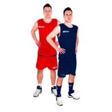 Баскетболен екип Legea Double, двулицев, син и червен