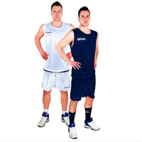 Баскетболен екип Legea Double, двулицев, т.син и бял