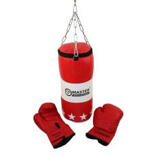 Боксов чувал и ръкавици MASTER за дете