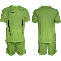Екип за футбол, волейбол и хандбал - неоново зелен