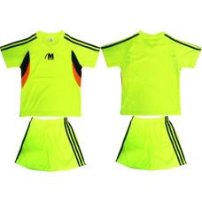 Детски екип за футбол, волейбол и хандбал - ел. зелено, черно и оранжево