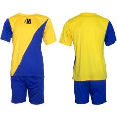 Екип за футбол, волейбол и хандбал - жълто и синьо