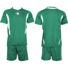 Екип за футбол, волейбол и хандбал - зелено и бяло