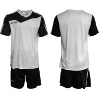 Екип за футбол, волейбол и хандбал - бяло и черно